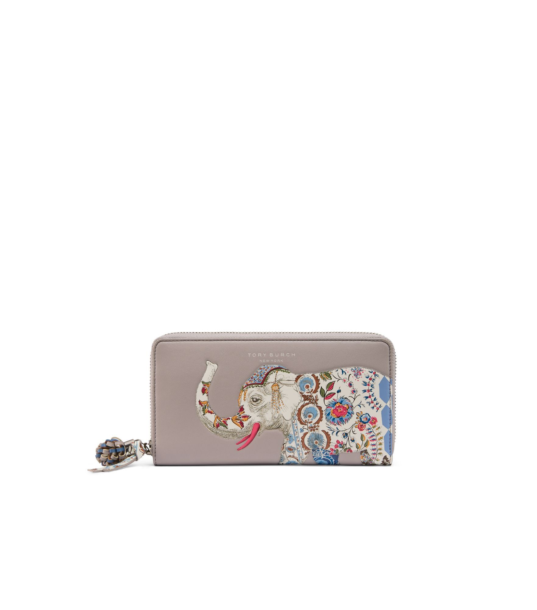f4d4872dfe TORY BURCH Elephant Zip Continental Wallet. #toryburch #all | Tory ...