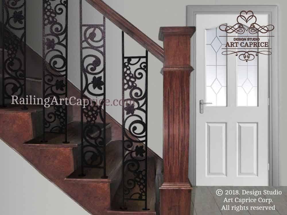 Metal Stair Railing Canada Design Studio Art Caprice Stair Railing Stair Railing Design Metal Stair Railing