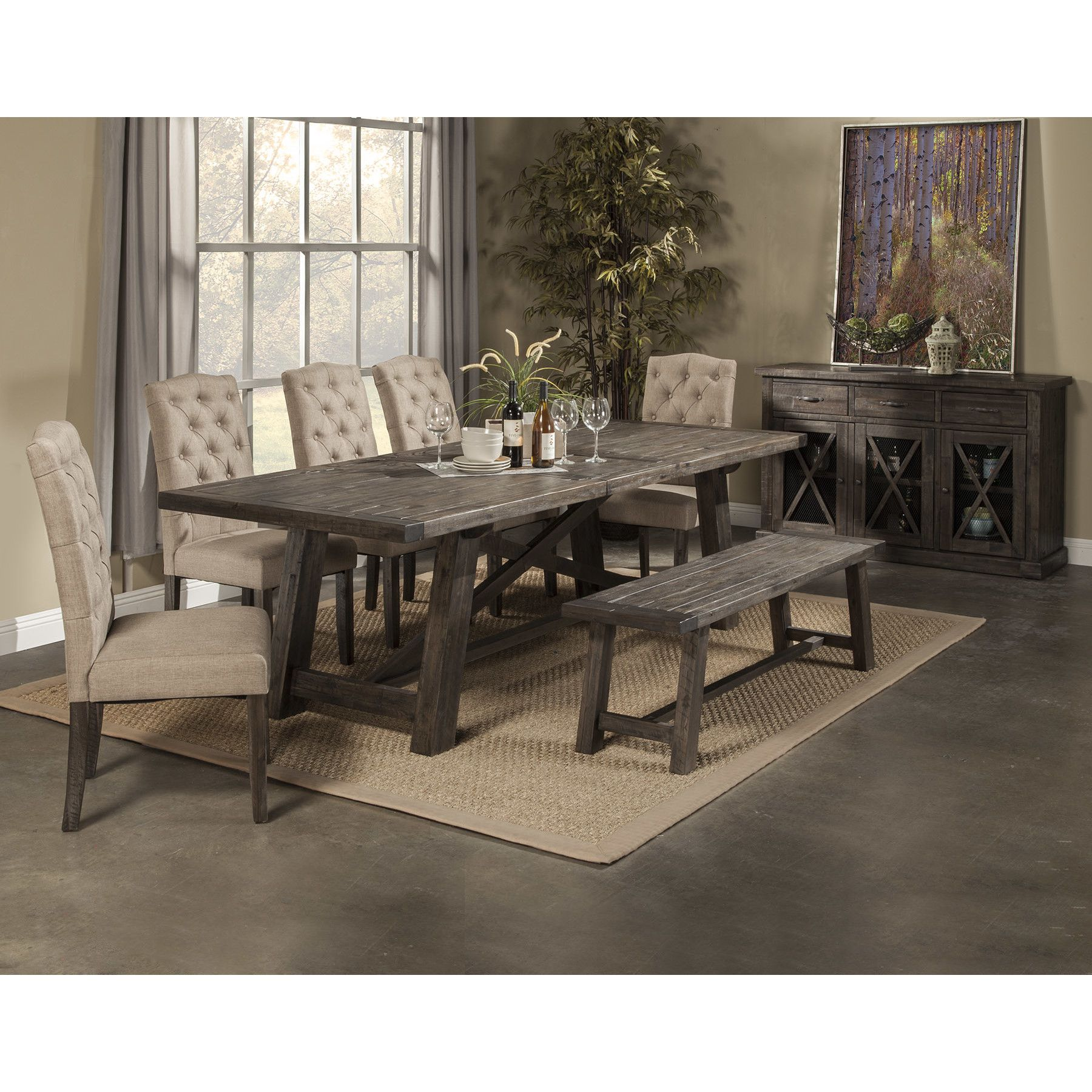 Loon Peak Todd Creek Extendable Dining Table