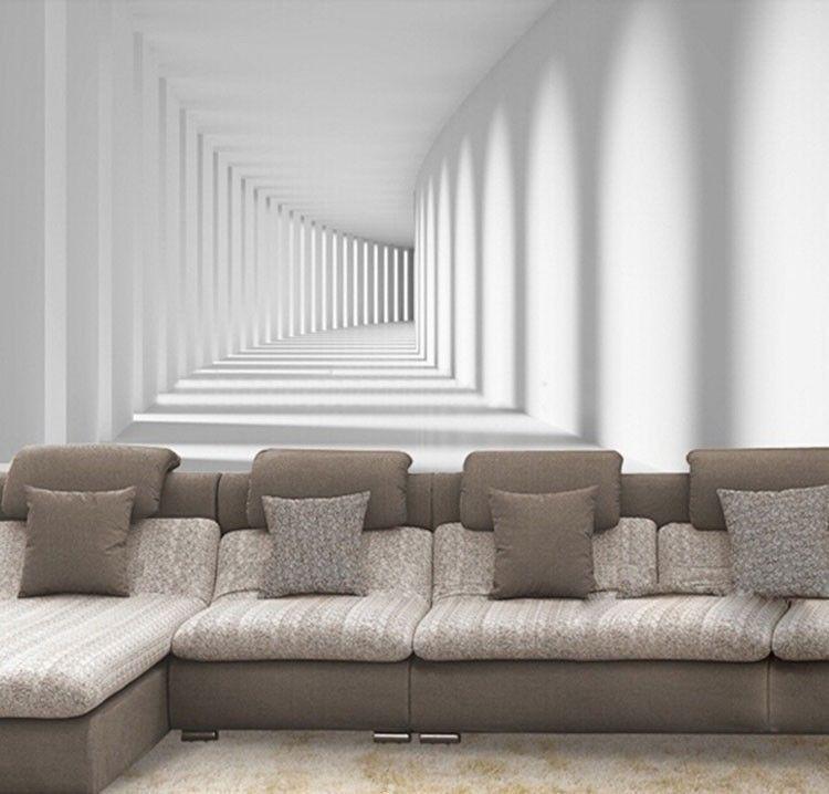 3d Effect Wallpaper Ebay 3d Wallpaper Bedroom Living Mural Roll Space Abstract