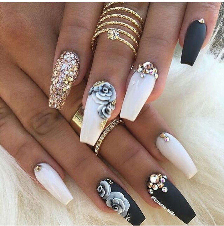Pin by Nelly Gonzalez on Nails | Pinterest | Nail nail, Nail swag ...