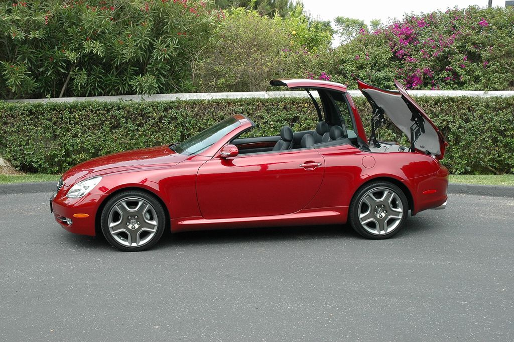 Lexus Sc 430 Convertible Hard Top From Coupe To In 20 Seconds Yes