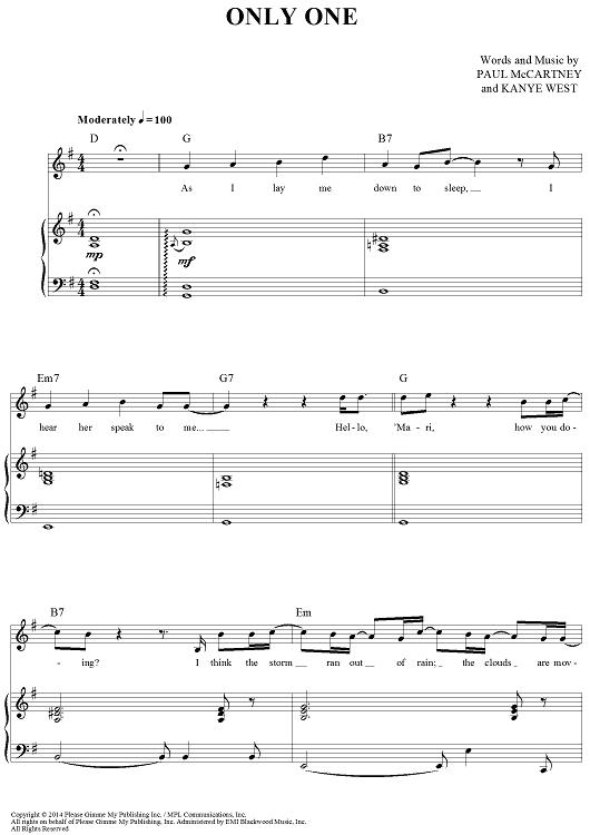 Kanye Piano Sheet Music Ibovnathandedecker