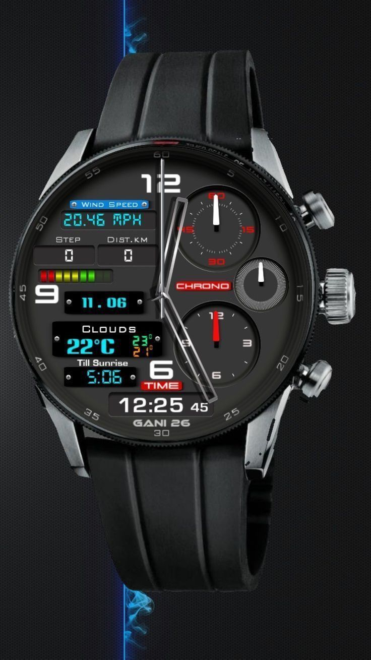 Seven Watch Concepts that they're nowhere. - Samsung Gear -