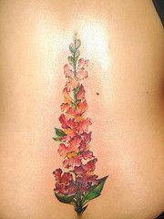 Snapdragon Flower Tattoo | Flower tattoos, Tattoos ...