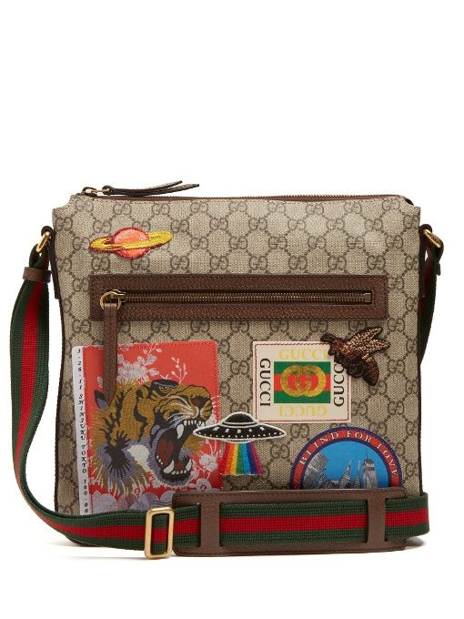 9885211fa48d GUCCI Courrier Gg Supreme Messenger Bag. #gucci #bags #shoulder bags  #leather #canvas #lining #