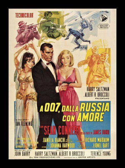 James Bond 007 From Russia With Love Dalla Russia Con Amore