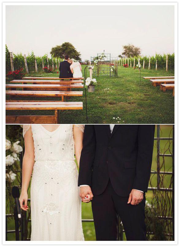 Arbor Trellis For Outdoor Garden Wedding Ceremony