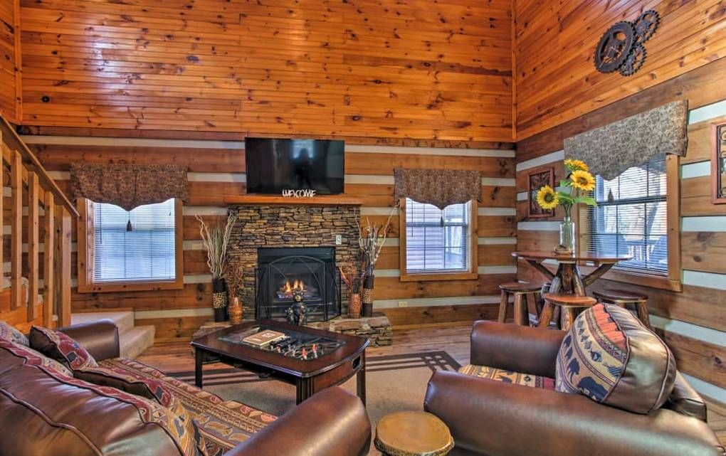1 Bedroom Cabins In The Smoky Mountains Timber Tops Cabin Rentals Cabin Rentals Cabin Smoky Mountains