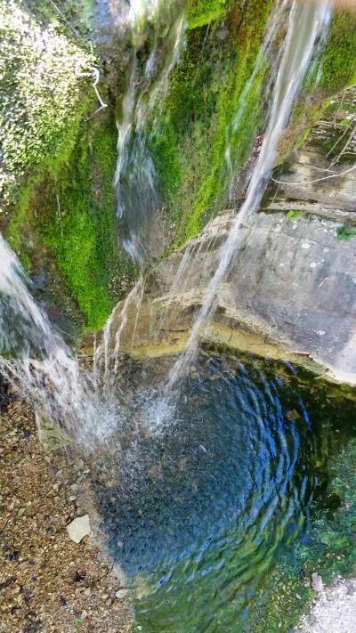 Chutes Victoria: Road 299 Falls Near Huntsville, Arkansas. Only 100 Yards