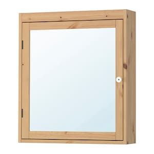 SILVERÅN Armario de espejo - marrón claro - IKEA | Mirror ...