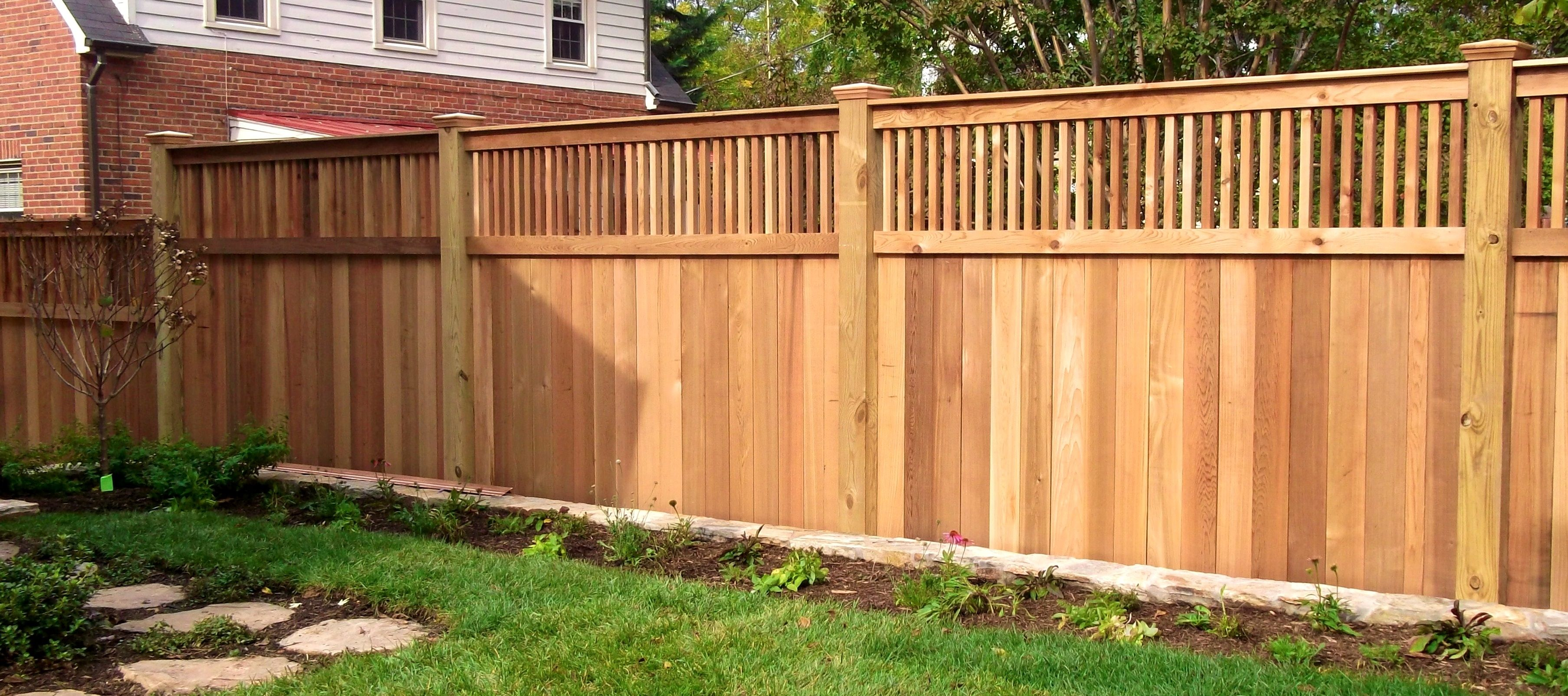 Image result for wood fence cost Garden Backyard