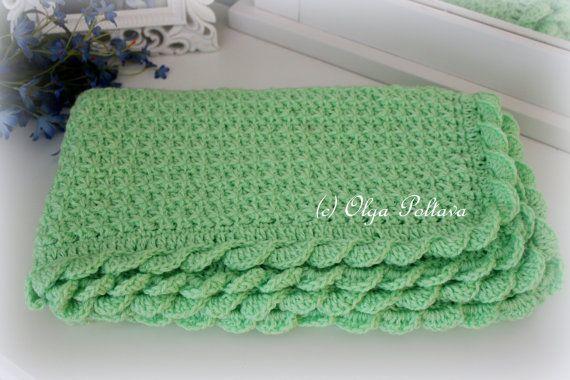 Baby Blanket Crochet Pattern Crochet Star by olgascrochetfrenzy