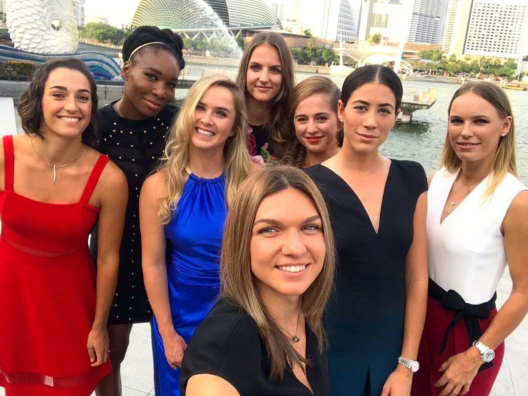 Circuito Wta : Wta finals 2017 a selfie mais esperada da temporada no circuito