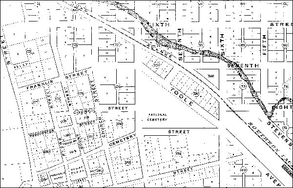 Map Of Arizona 1880.Map Of Tucson 1880 Streets And People Tucson 1880s To 1890s In