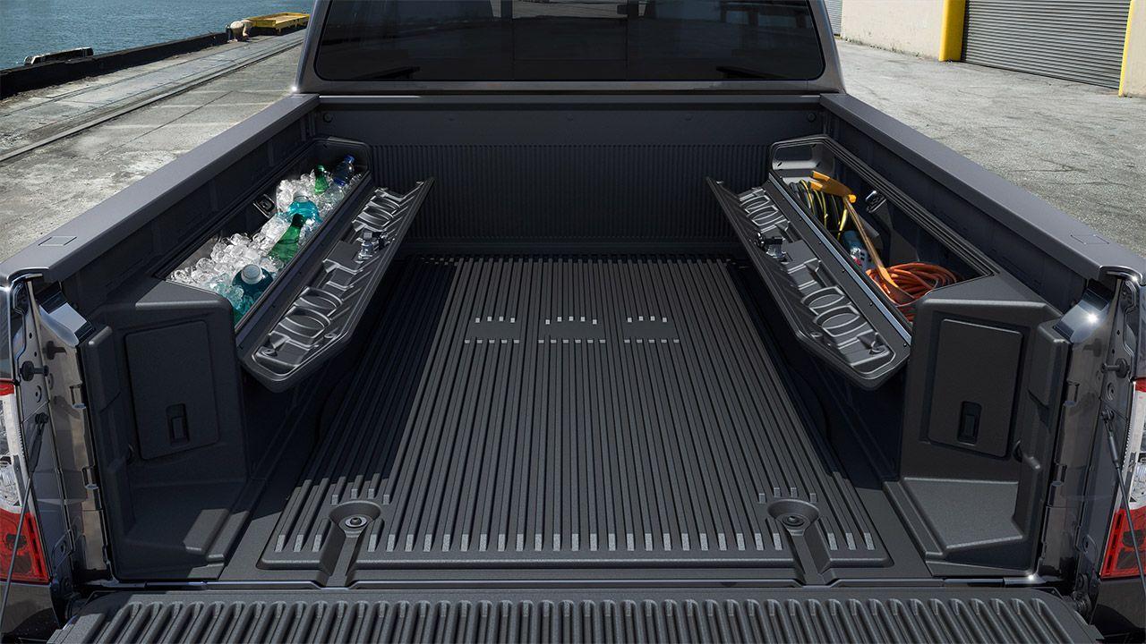 2018 Nissan Titan XD Titan boxes Nissan titan xd, Nissan
