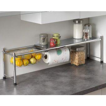 rangement telescopique   Diy kitchen storage, Kitchen organisation, Kitchen decor