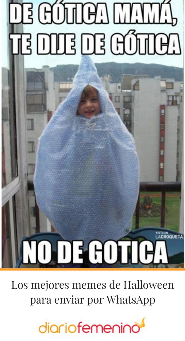 Los Mejores Memes De Halloween Para Enviar Por Whatsapp Halloween Memes Memes Humor