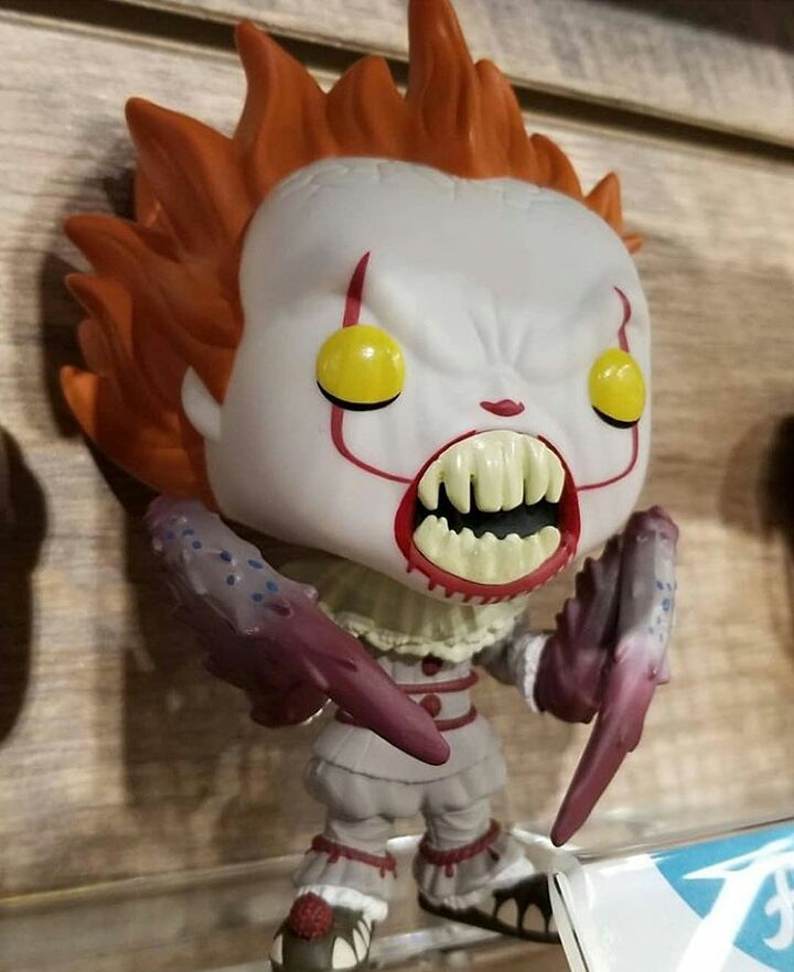 Here S A Look At The New Pennywise Crab He Is Pretty Cool