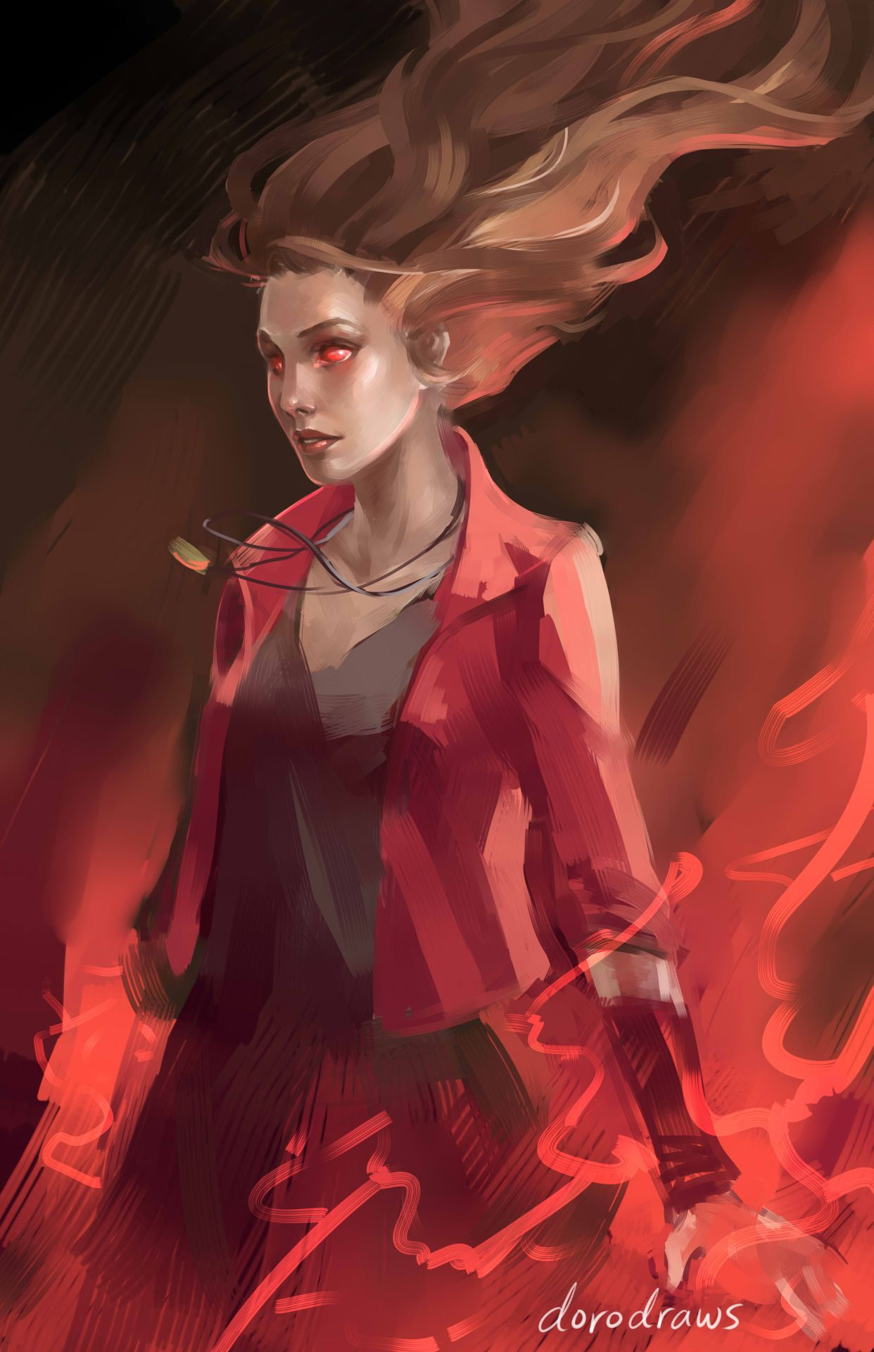 Genderbend Scarlet Witch | WIP - Scarlet Witch from Avengers: Age ...