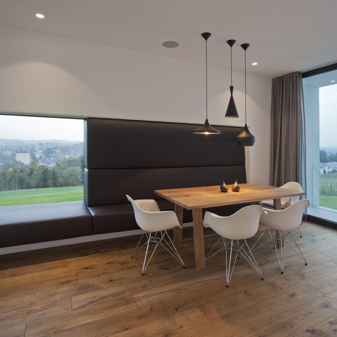 modernes traumhaus in kubistischer form in Österreich | haus und, Esszimmer dekoo