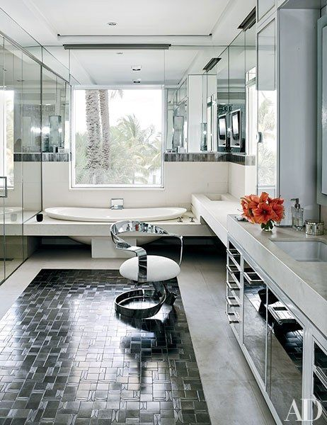 Fashion Designer Tommy Hilfiger's Vibrant Home in Miami ...