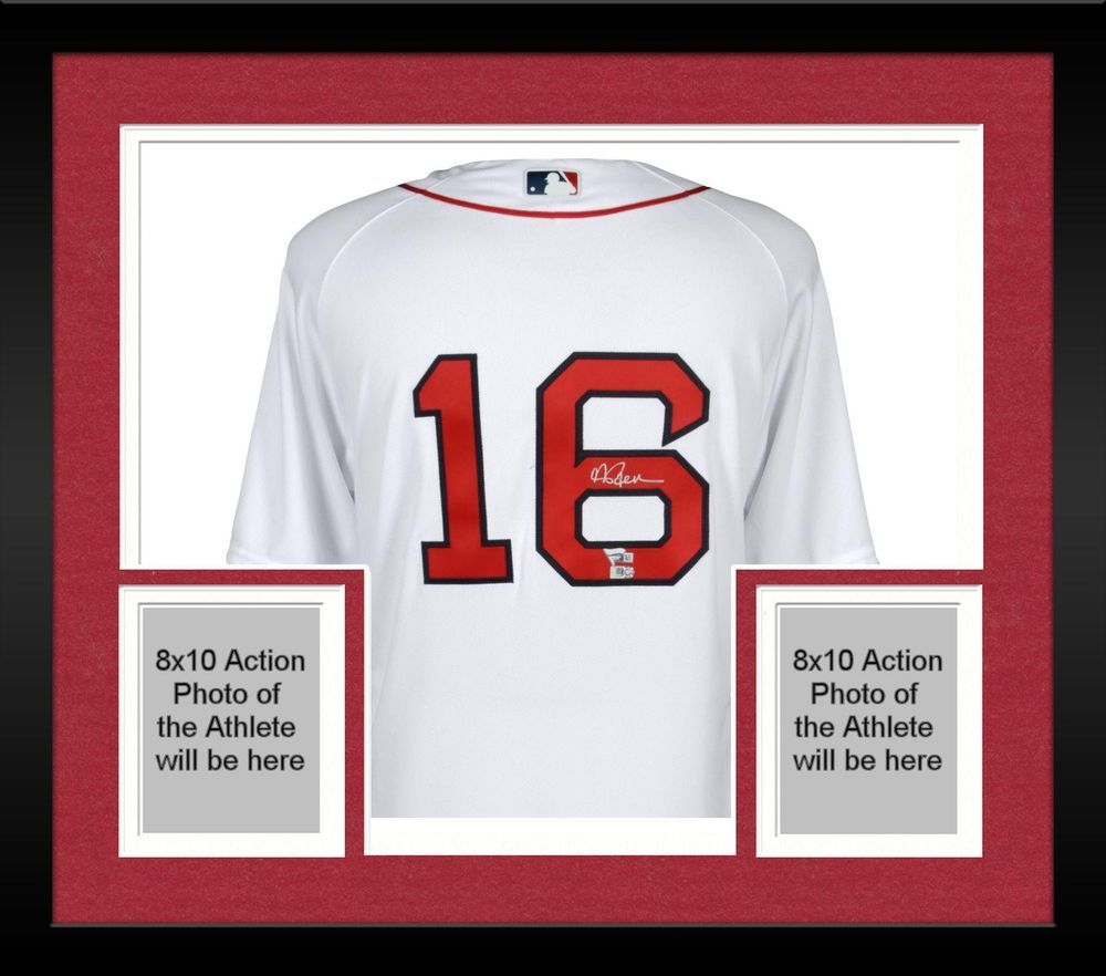0bce618b3 Autographed Andrew Benintendi Red Sox Jersey Fanatics Authentic COA  Item 8454764