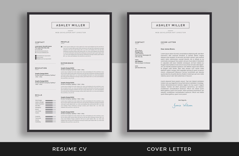 Resume Cv Resume Cv Unique Resume Template Resume