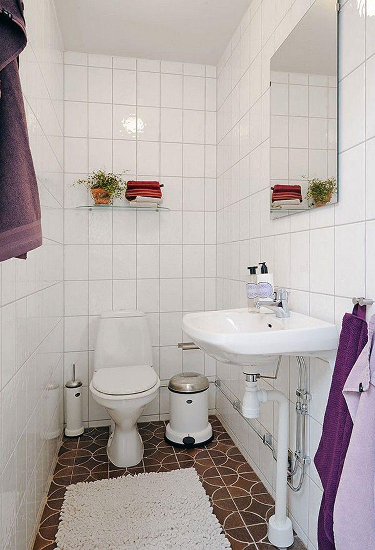 35+ Luxury Tiny Apartment Bathroom Decoration Ideas   Easy ...