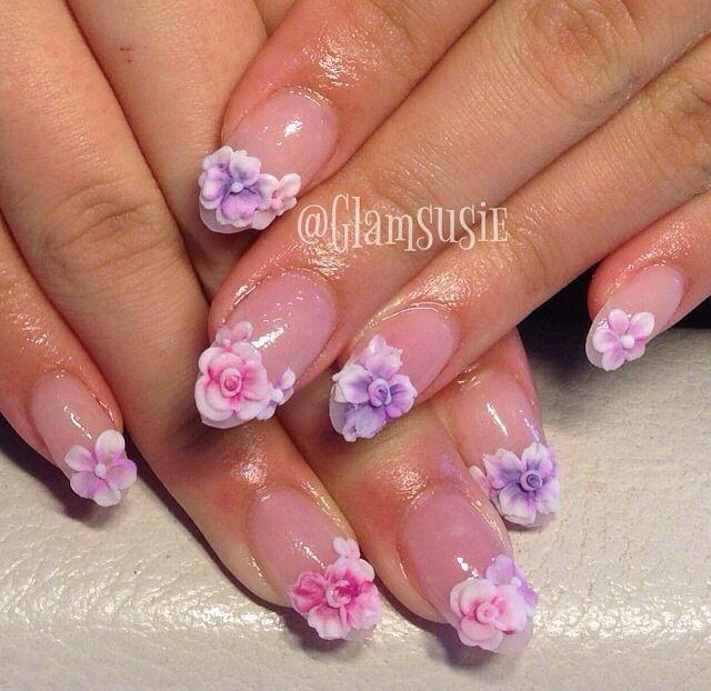Nails Acrylic 3d Nail Design Nail Art Pretty Nails