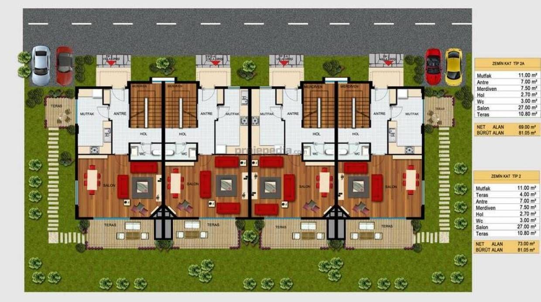 Dubleks villa projesi autocad dubleks villa projesi dwg pictures to - Villa Korumodern Anakkale 4 2 Villa G Rgen Tip 2a Karel N Aat