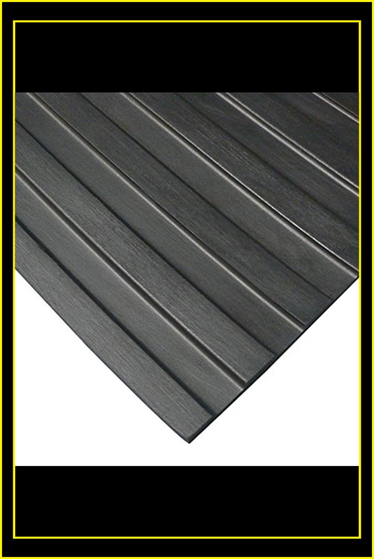 Wide Rib Rubber Flooring Mat 1 8 Thick X 4ft X 10ft Black Runner Mats New In 2020 Rubber Flooring Rubber Floor Mats Black Runners
