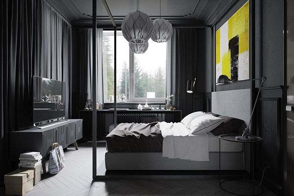 Design Concept Of Modern Industrial Apartment For Chief Editor Of The One  Big Russian Gaming Magazine.