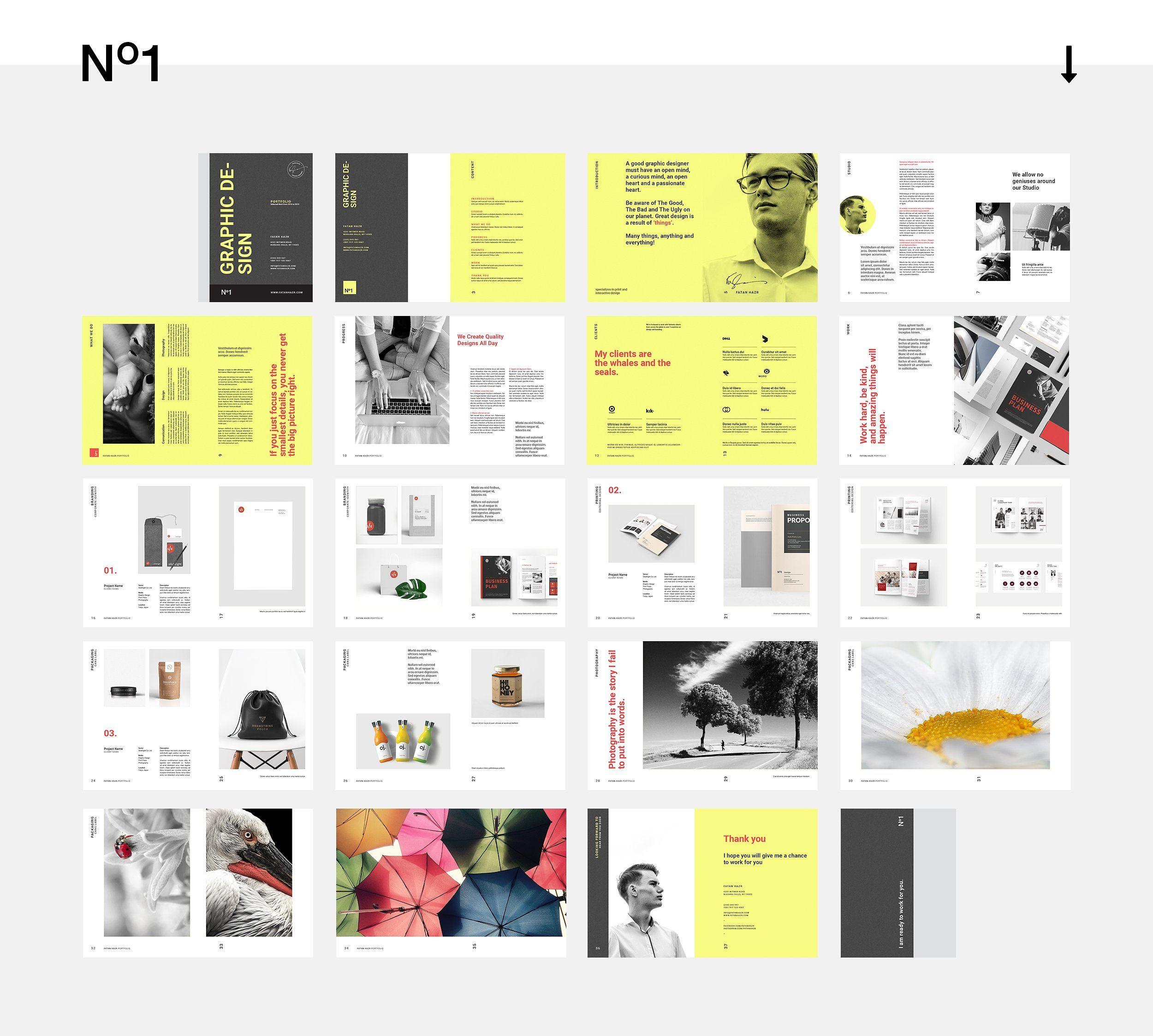 Graphic Design Portfolio #suitable#purpose#project#including ...