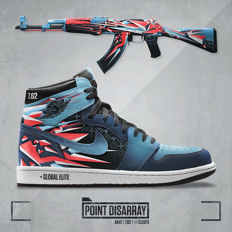 I decided to create CS GO skin crossovers to shoes like Yeezy   Jordan Air  1   Nmd etc.  games  globaloffensive  CSGO  counterstrike  hltv  CS  steam   Valve ... 20842008e