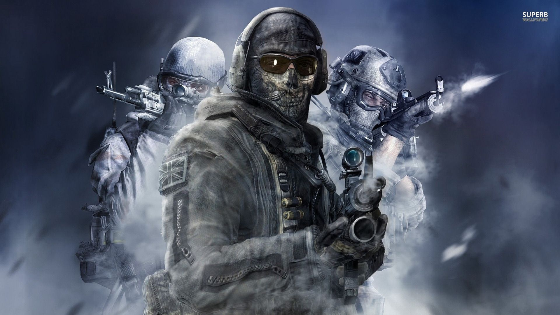 CALL OF DUTY WALLPAPER 047 | Hd Wallpaper, Blue Wallpaper ...