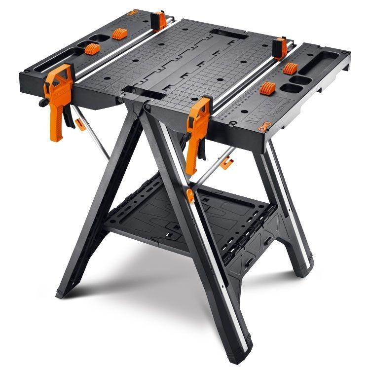 Enjoyable Details About Worx Wx051 Pegasus Folding Work Table Machost Co Dining Chair Design Ideas Machostcouk