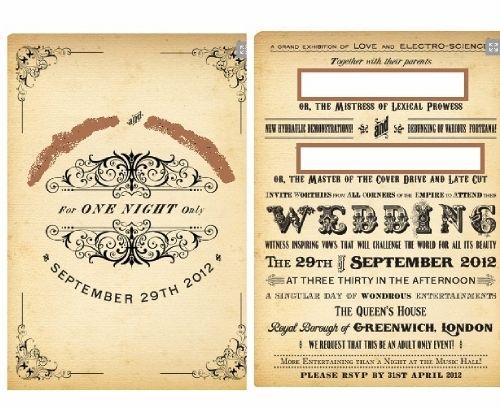 another retro idea | wedding catalogs | Pinterest | Invitation ...