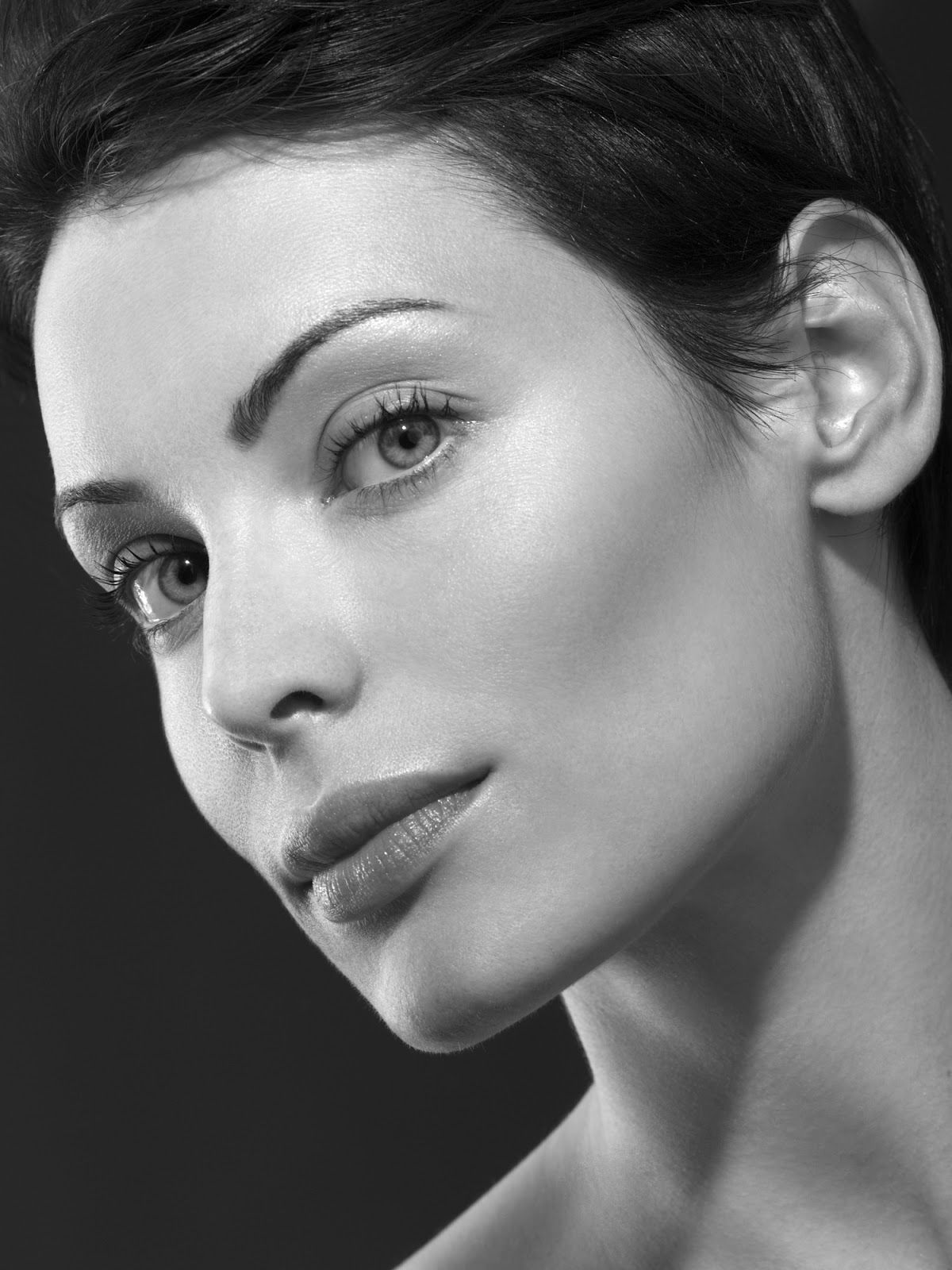 Yoanna house black and white beauty shots