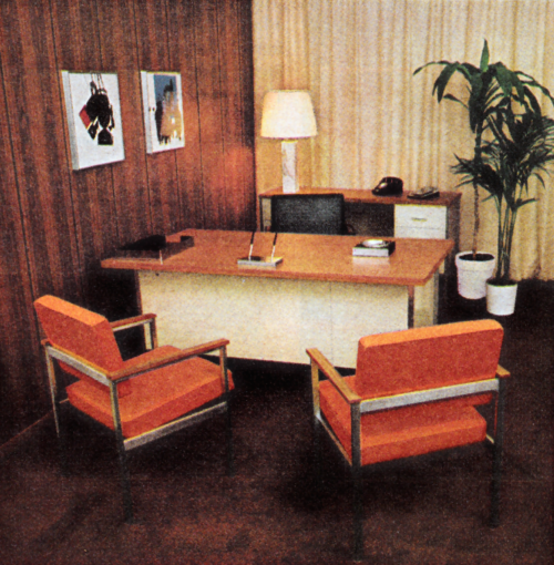 1970s Office Decor Retro Offices Office History In 2019 Office