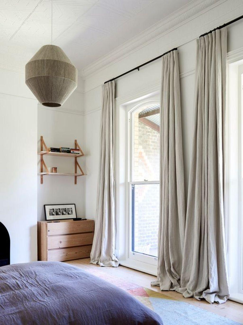 45 Modern Bedroom Curtain Designs Ideas | Curtains living ... on Farmhouse Bedroom Curtain Ideas  id=44097