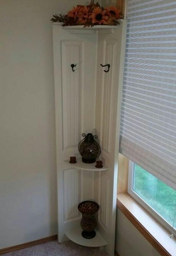Repurposed Closet Bi Fold Doors Shelf Cabinet Doors Repurposed Doors Repurposed Old Closet Doors