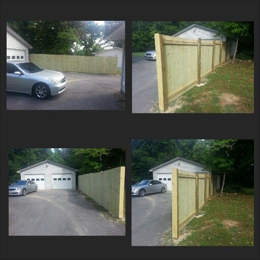 My Privacy Fence. 32 Feet Long #DIY Total Cost About $215