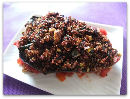 Quinoa Stuffed Poblano Pepper Recipe