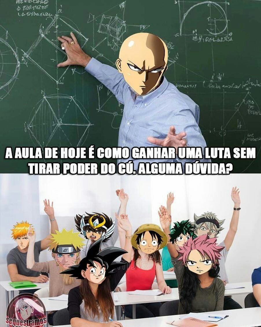 Professor Saitama imagens) Anime meme, Anime