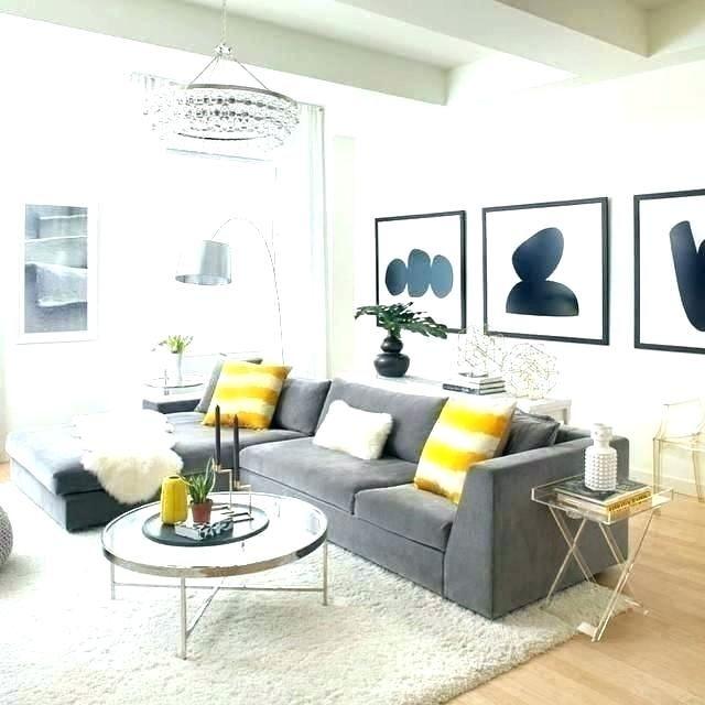 Best Blue Gray Yellow Living Room Interior Gray Yellow Living 640 x 480