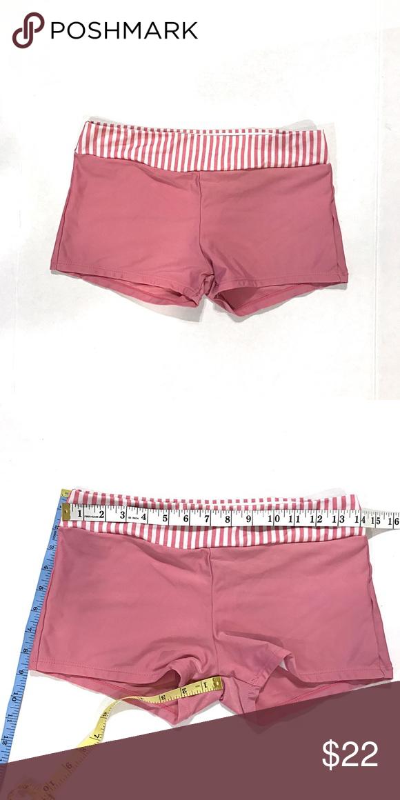 542608d001 Swim shorts pink swimming trunks boy shorts medium Pink swim shorts Size  medium Measurements in pic No name brand Swim