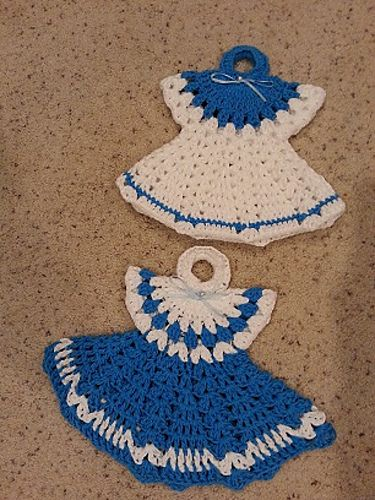 Ravelry crochet easy vintage dress potholder anns style pattern ravelry crochet easy vintage dress potholder anns style pattern by helenmay crochet done by dt1010fo