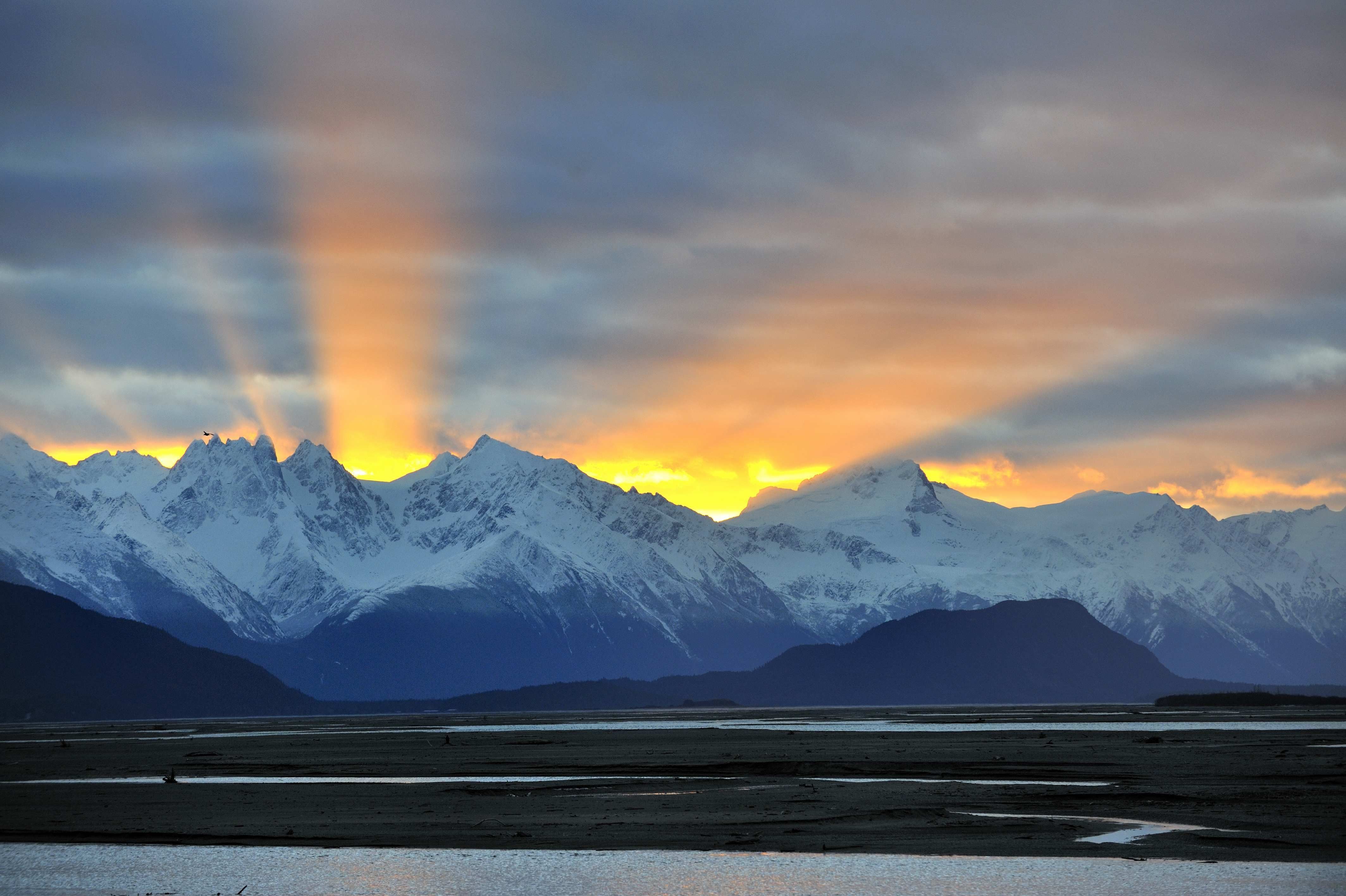Image result for sunrise in alaska