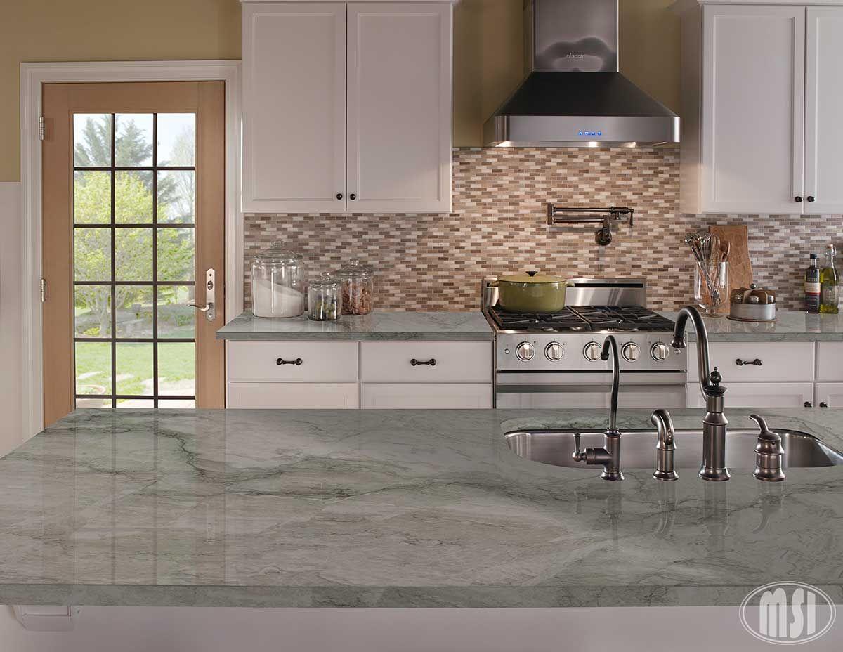 Sea Pearl Kitchen Remodel Sea Pearl Quartzite Kitchen